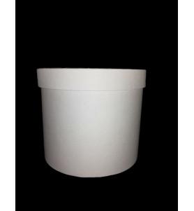 Коробка для композицій біла
