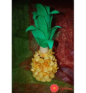 Новорічна флористика №4 (шампанське, ананас)